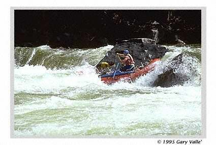 The Skykomish, Running The Needle On Boulder Drop