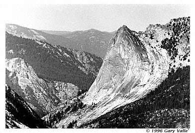CHARLOTTE DOME, Southeast Face