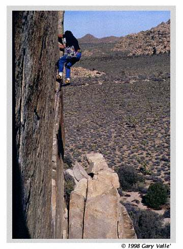 ON THE ROCK, Joshua Tree, O'Kelly's Crack