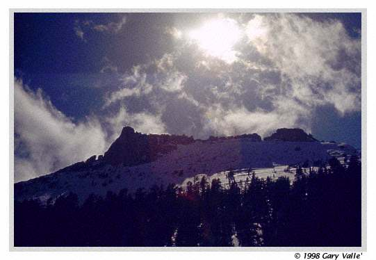 ROCK UPON ROCK, SNOW UPON SNOW, Yosemite National Park, Tresidder Peak