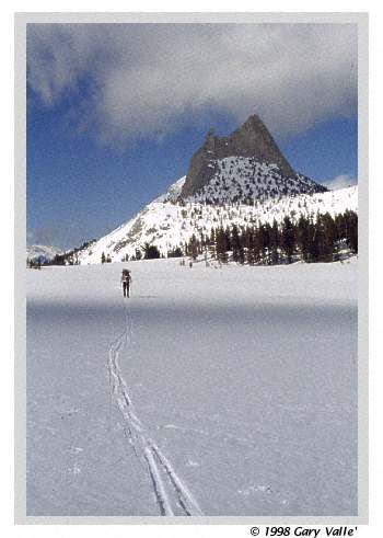 ROCK UPON ROCK, SNOW UPON SNOW, Yosemite National Park, Cathedral Peak